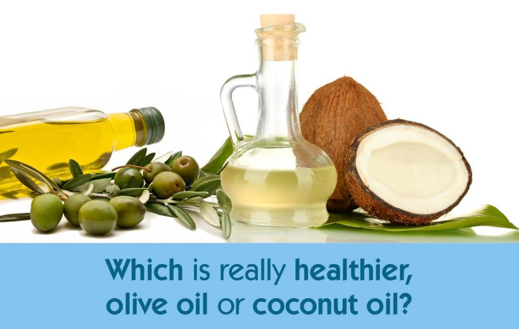 Which is Healthier, Olive Oil or Coconut Oil?