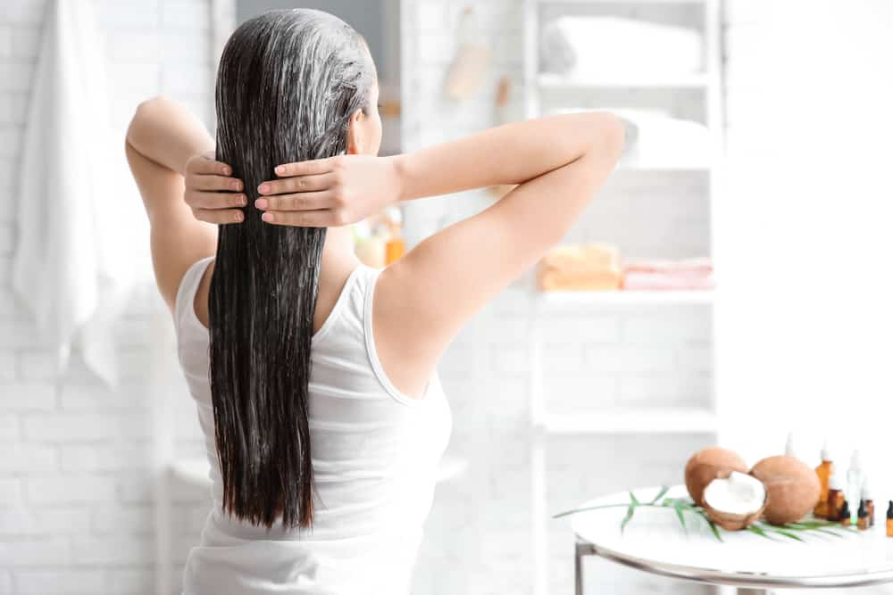 Restore hair loss with coconut oil